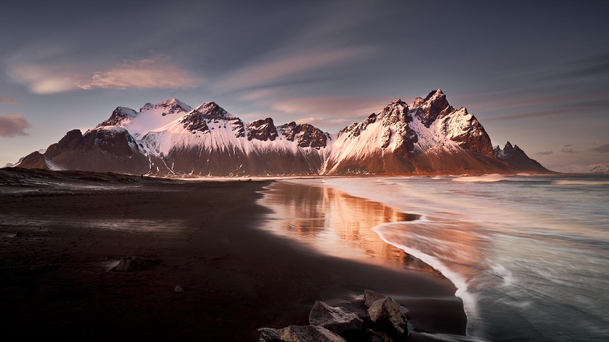 Anabáze zimní Island