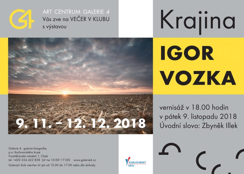 Výstava fotografíí - Igor Vozka